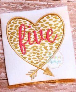 five-heart-arrow-applique-embroidery-design