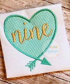 nine-arrow-heart-birthday-embroidery-applique-design