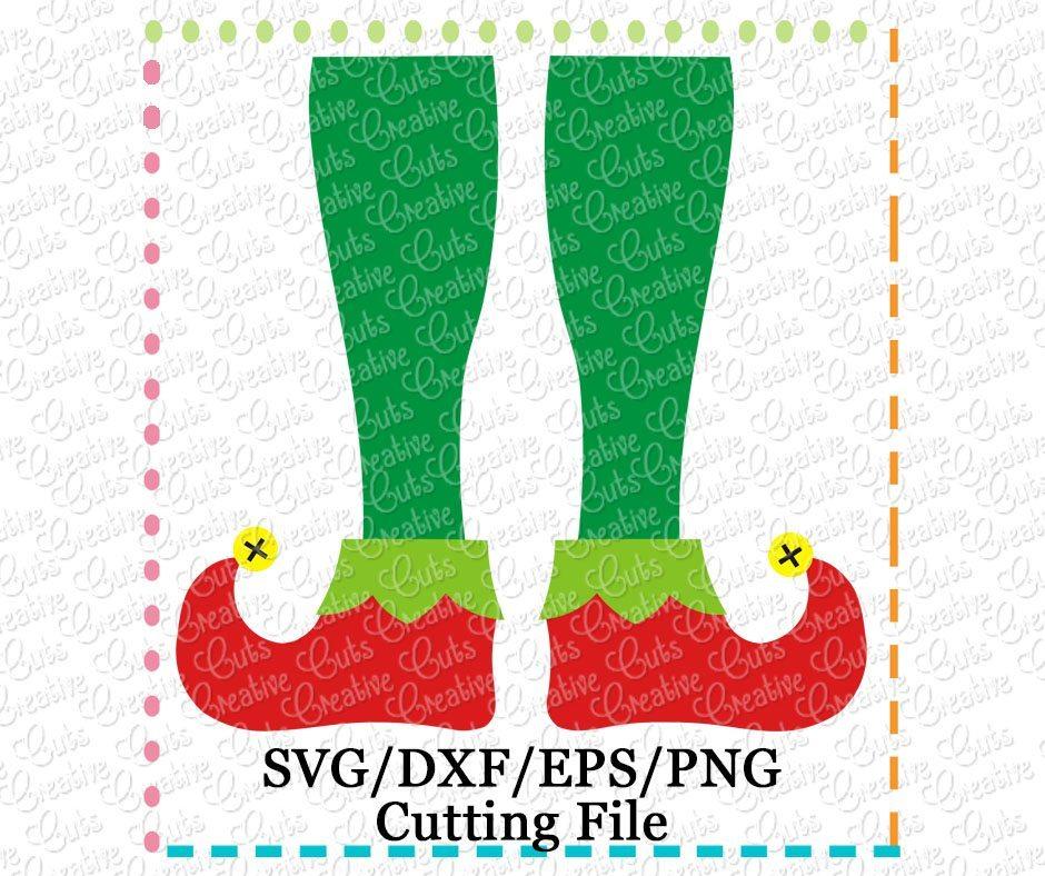 Elf Legs Cutting File Svg Dxf Eps Creative Appliques