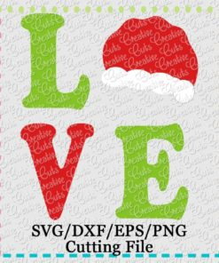 Download Love Turkey Cutting File SVG DXF EPS - Creative Appliques