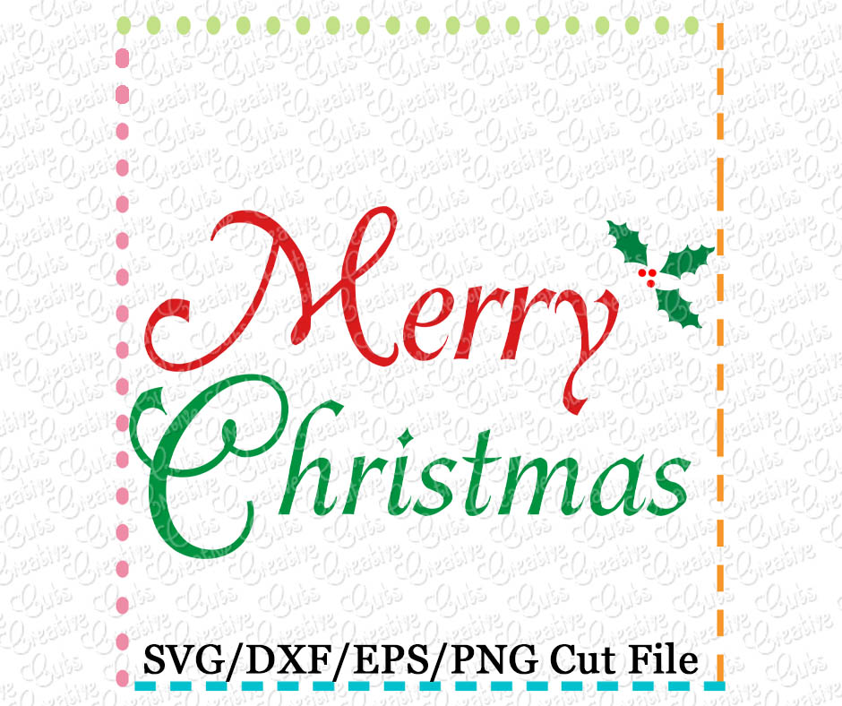merry christmas svg