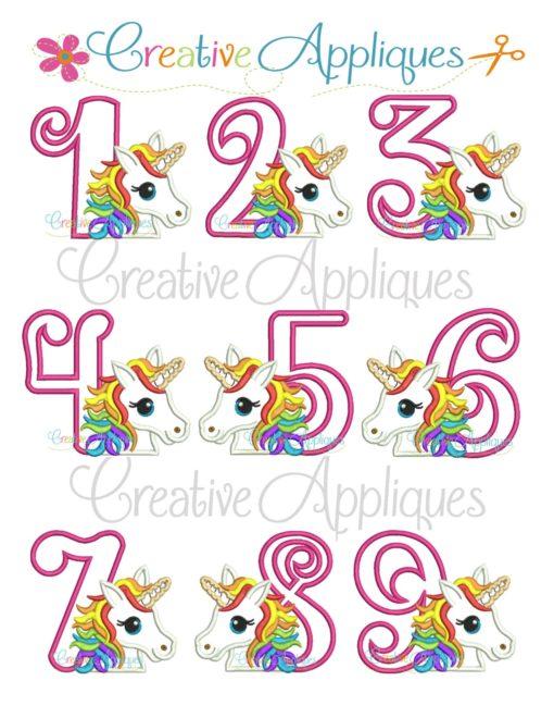 rainbow-Unicorn-birthday-Number-set-applique-embroidery-design