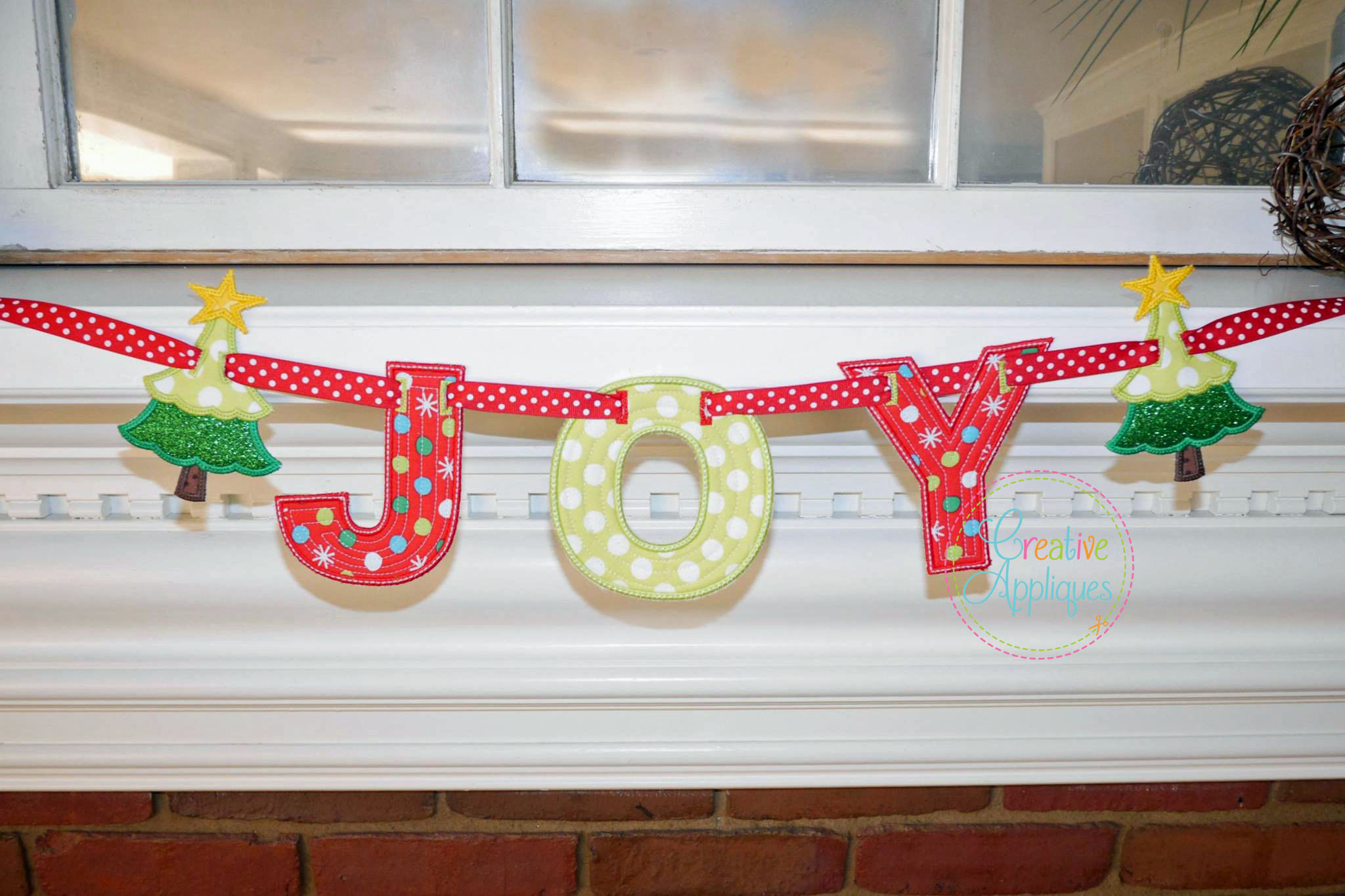 Satin block banner alphabet letters in the hoop creative appliques