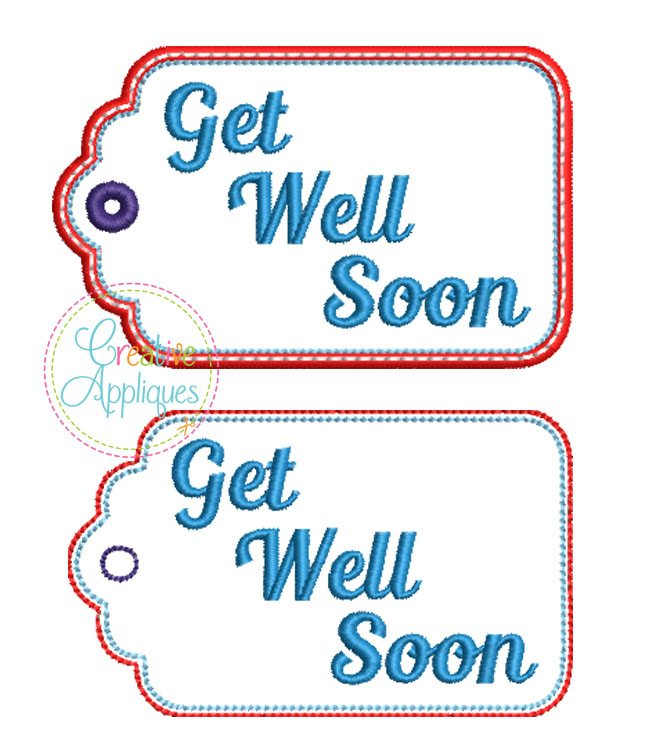 get well soon gift tag in the hoop creative appliques