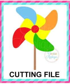Pinwheel SVG cut file