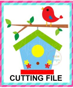 Birdhouse SVG cut file