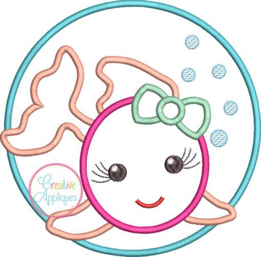 girl-fish-circle-embroidery-applique-design