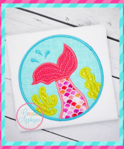 mermaid-tail-circle-embroidery-applique-design-creative-appliques