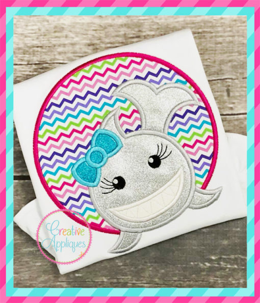 girl-shark-circle-embroidery-applique-design