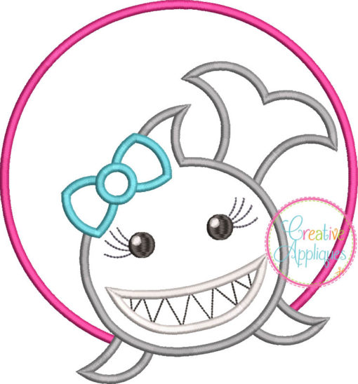 shark-girl-circle-embroidery-applique-design-creative-appliques
