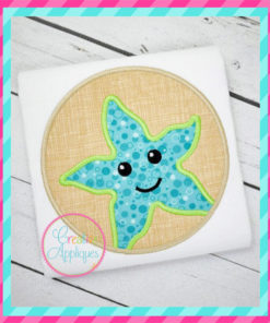 starfish-circle-embroidery-applique-design-creative-appliques