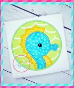 seahorse-circle-embroidery-applique-design-creative-appliques