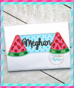 watermelon-frame-embroidery-applique-design-creative-appliques