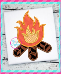 campfire-embroidery-applique-design-creative-appliques