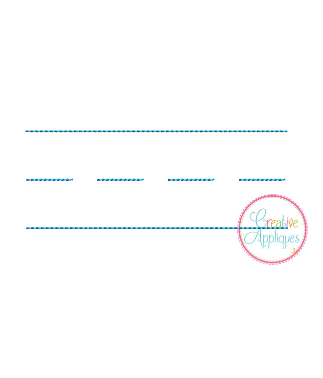 notebook lines embroidery creative appliques