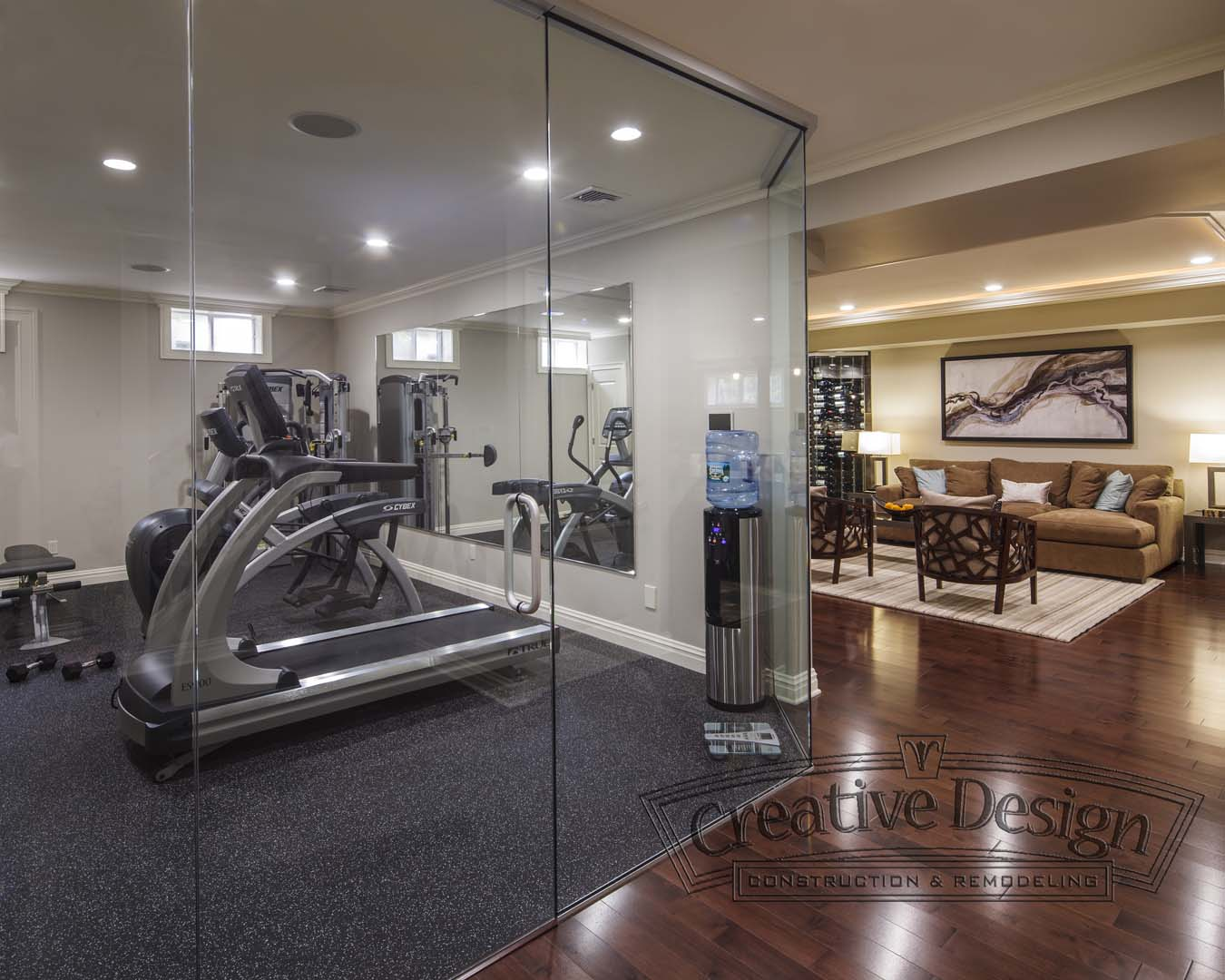 Custom Built Home Gym NJ