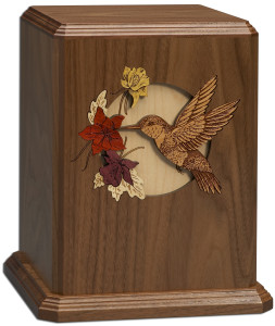 DW Dimmensional Hummingbird cremation urns