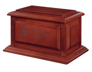 Franklin Cherry cremation urns