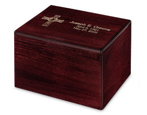 Traditional cremation urns