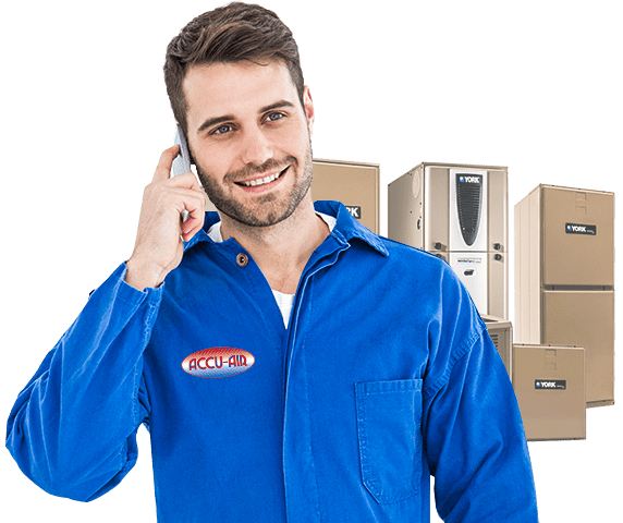 An HVAC installer of York products