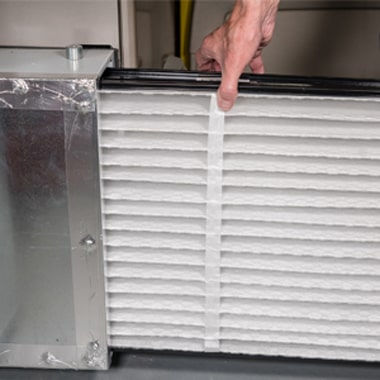 A/C filter replacement