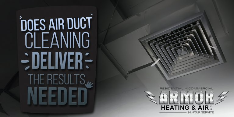 Does Air Duct Cleaning Deliver The Results Needed?