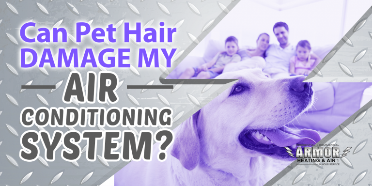 Can Pet Hair Damage My Air Conditioning System?
