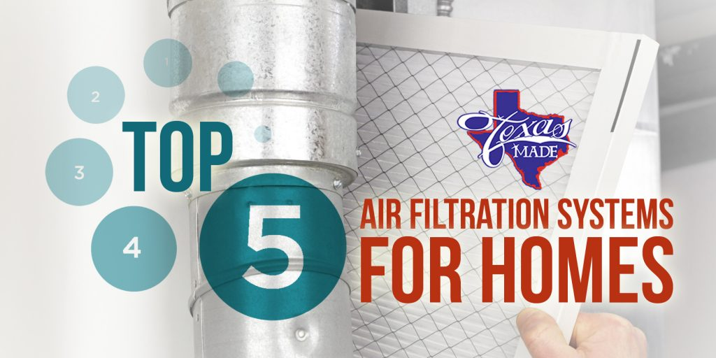 Top 5 Air Filtration Systems for Homes