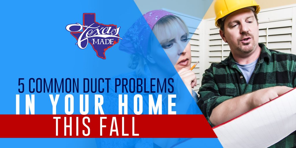 5 Common Duct Problems In Your Home This Fall