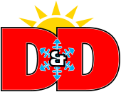 D&D Heating and Cooling logo