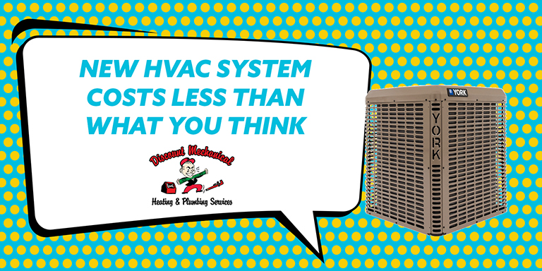 New HVAC System Costs Less Than You Think