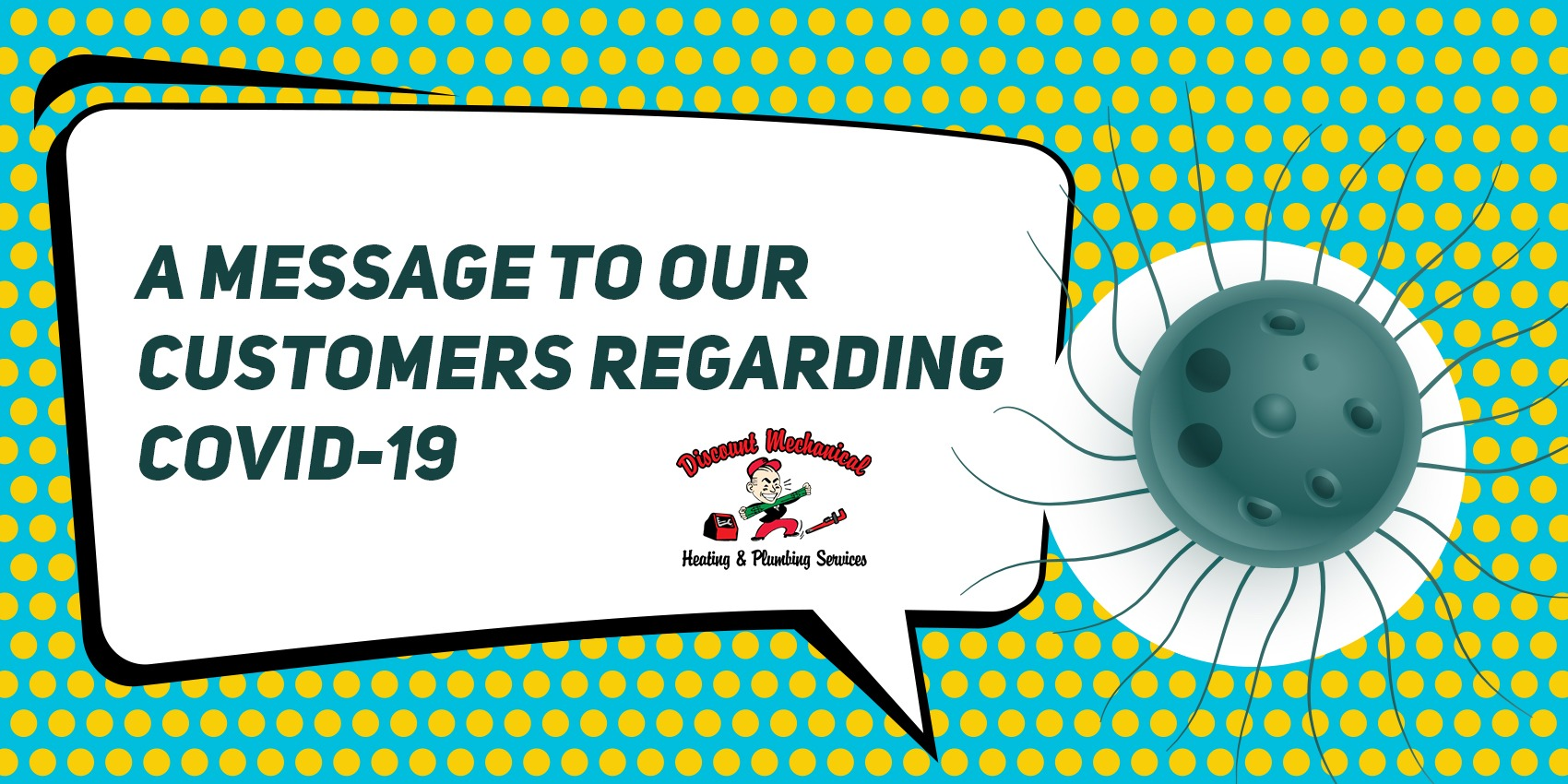 A MESSAGE TO OUR CUSTOMERS REGARDING COVID-19