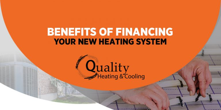 Benefits of Financing Your New Heating System