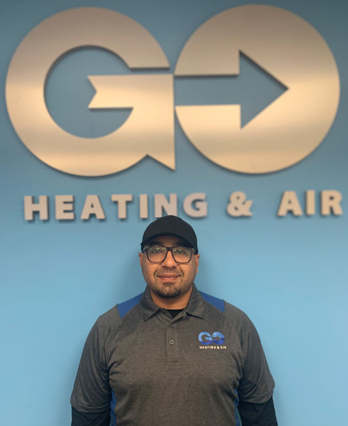 Go Heating & Air's New Construction Manager Mohammed Al-Turahi