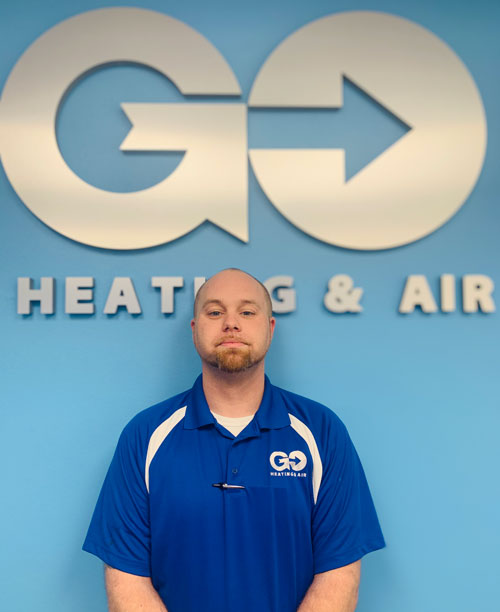 Go Heating & Air's Residential Manager Jeff Murry