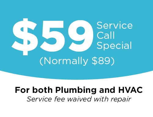 $59 Service Call Special