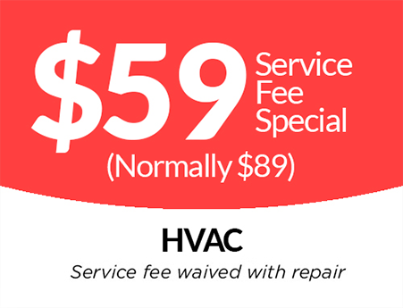 HVAC Service Special Go Heating Air Plumbing