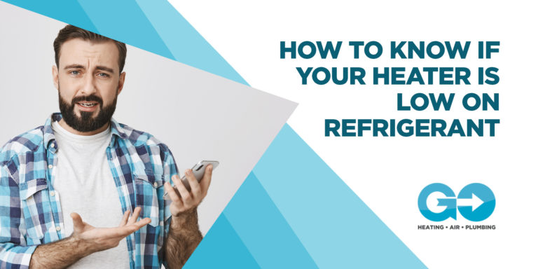 How to Know if your Heater is Low on Refrigerant