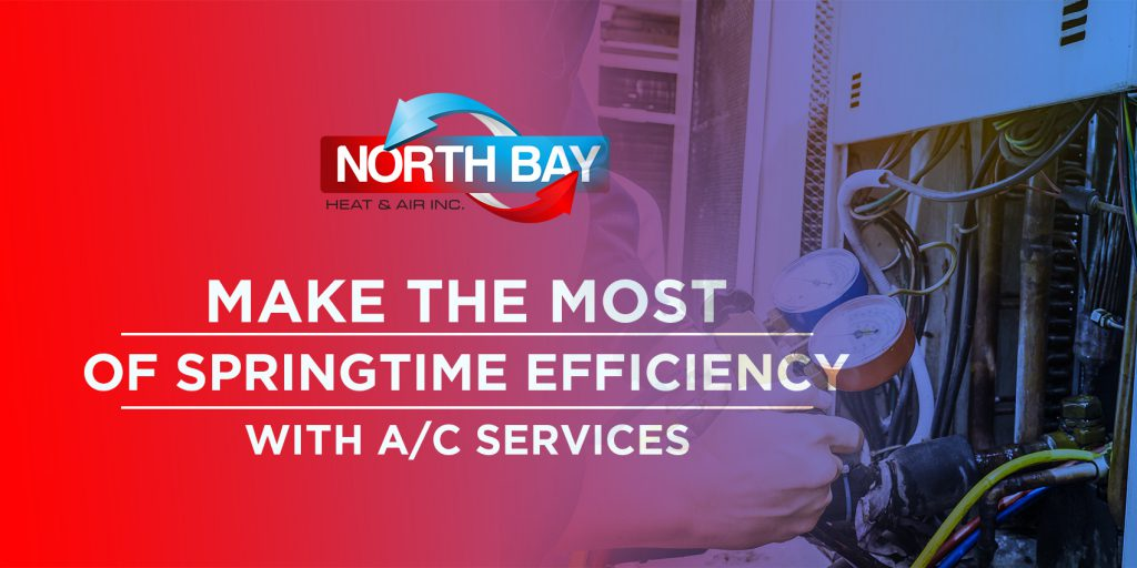 Make the Most of Springtime Efficiency with A/C Services