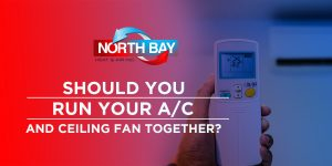 Should You Run Your A/C and Ceiling Fan Together?