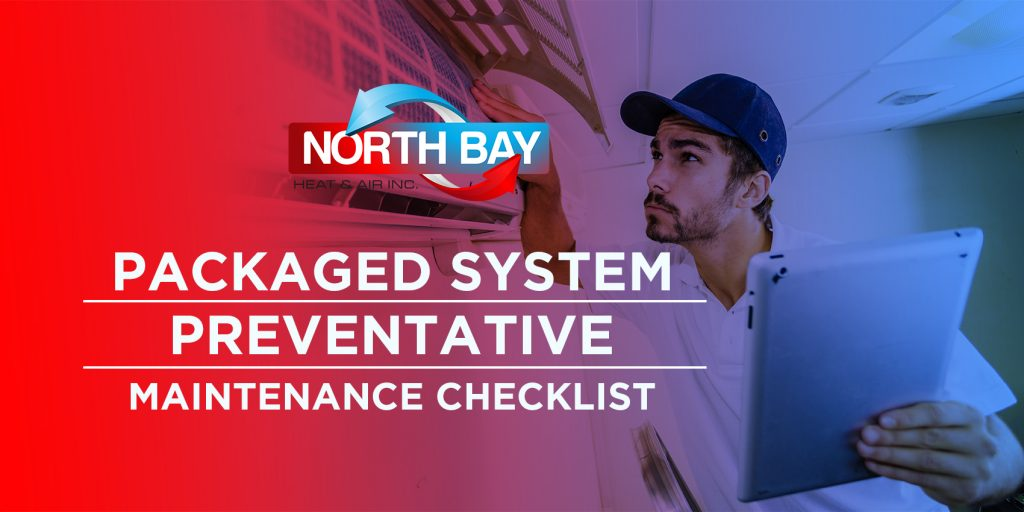 Packaged System Preventative Maintenance Checklist