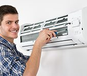 Ductless/High-Velocity System Installation