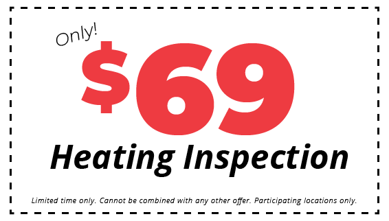 $69 Heating Inspection Coupon