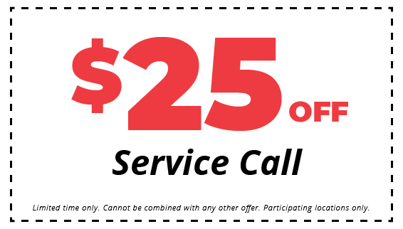 $25 Off Service Call Coupon
