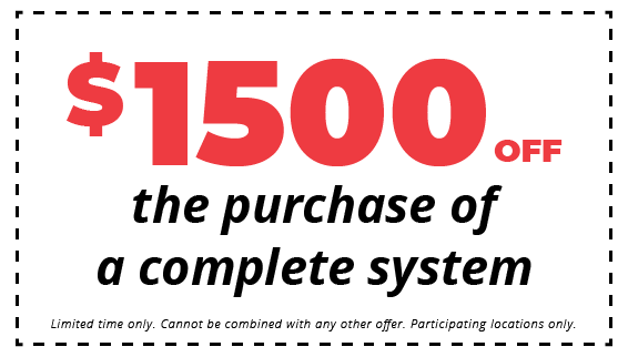$1500 Off for Purchase of Complete System Coupon