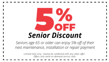 5% Senior Discount Coupon