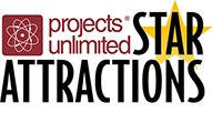 Projects Unlimited Star Attractions series logo