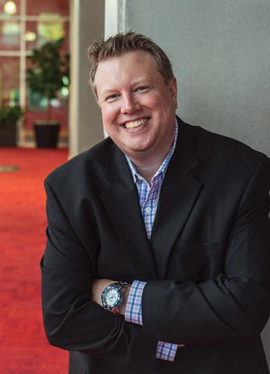 Portrait of Dayton Live President & CEO Ty Sutton