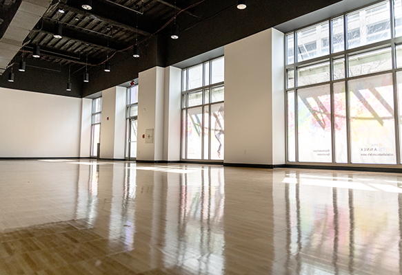 The PNC Arts Annex studio
