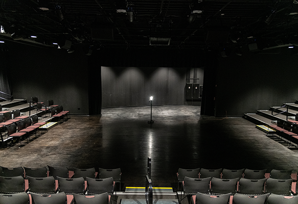 View of the PNC Arts Annex Theatre